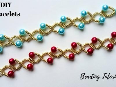 GIVEAWAY DIY Beaded Bracelets . Christmas gift ideas -Beading tutorial
