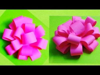 ➽ Gorgeous Paper Flowers in 2 minutes!! Innovative Arts | DIY Paper crafts