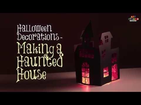 Halloween Decorations - How to Make Halloween Haunted House - DIY Halloween Decoration Ideas