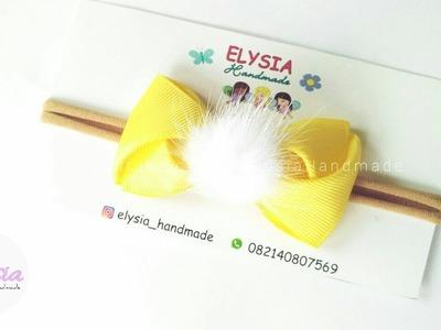 Headband Ideas : Bowtie Headband Improvisation   DIY by Elysia Handmade