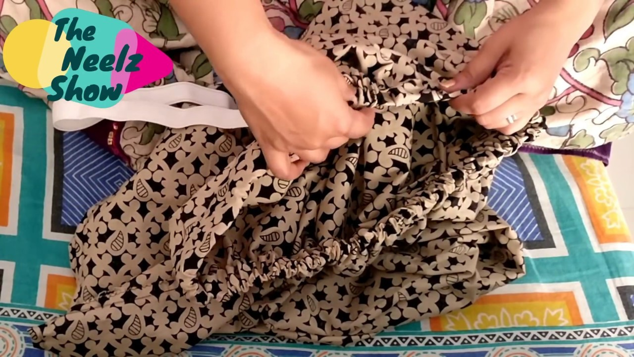 [Hindi] DIY | Maxi skirt in 5min very simple steps for beginners