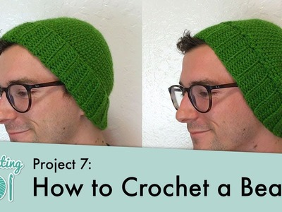 How to Crochet a Beanie || Crocheting 101: Project 7