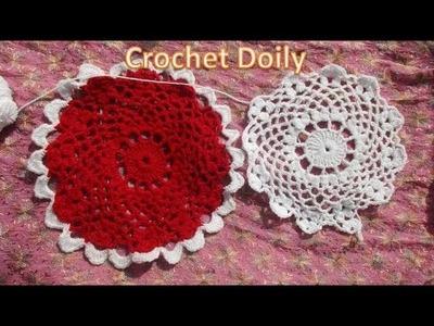 How to crochet a Doily [Hindi]