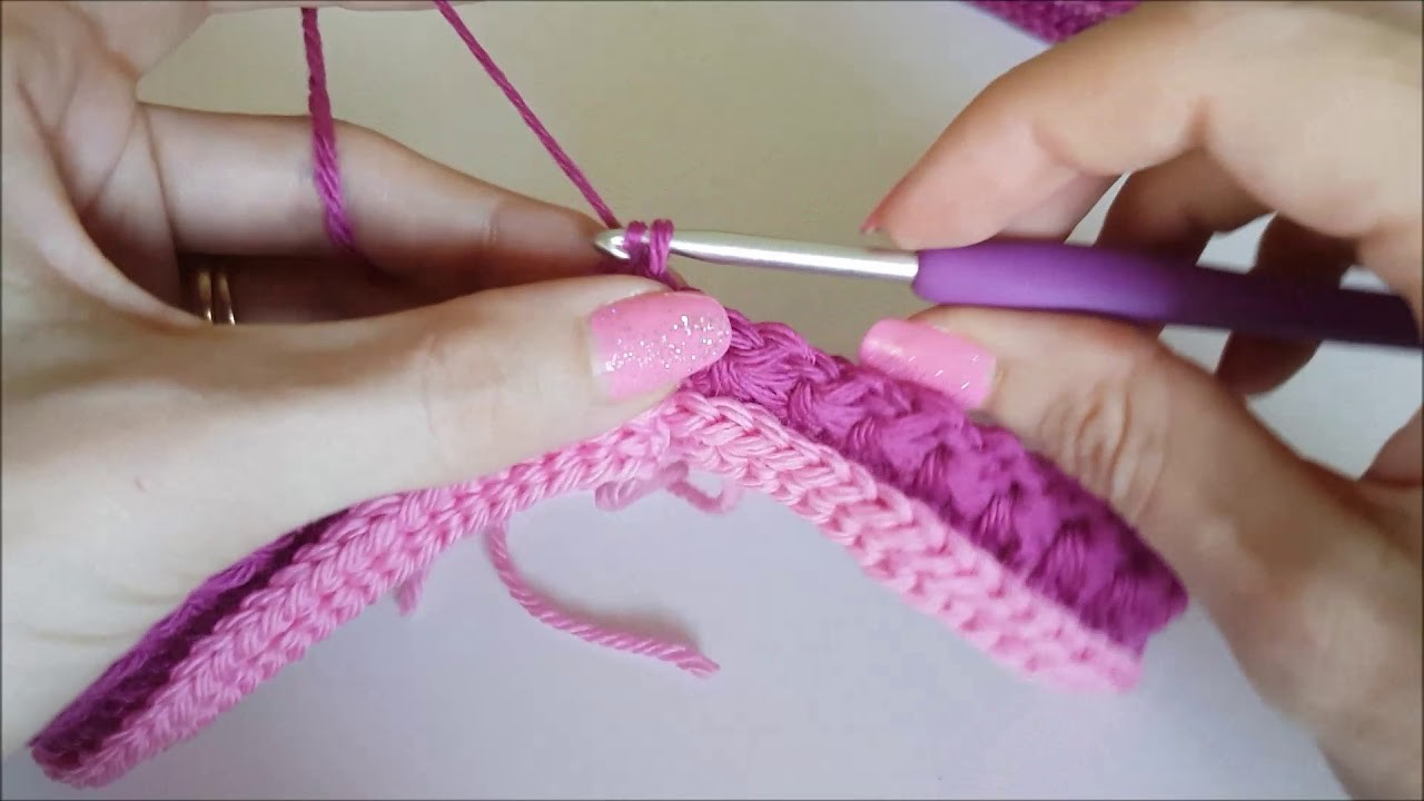 How To Crochet: Star Stitch in the Round