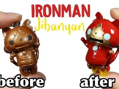 How to DIY.Customization Iron Man Robo-Jibanyan Yokai Watch Figure Repaint Tutorial