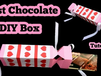 How to make a chocolate box with a paper | Diy chocolate box |