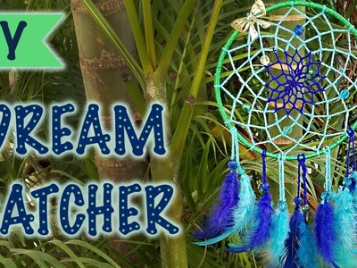 How to make a Dreamcatcher | DIY | Step by Step Easy Tutorial | Kreena Desai