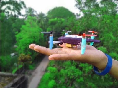 How to make a Mini Racing quadcopter DIY