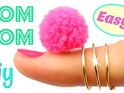 How to make a Pom Pom out of Yarn | Simple DIY