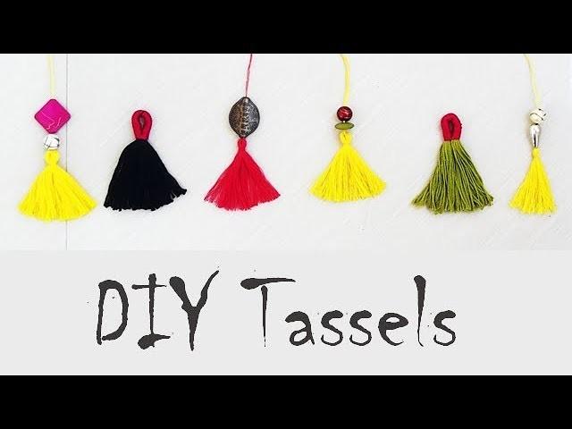 How To Make a Tassels, Quick And Easy Tassels\Tassle\Tassles  DIY Tutorial