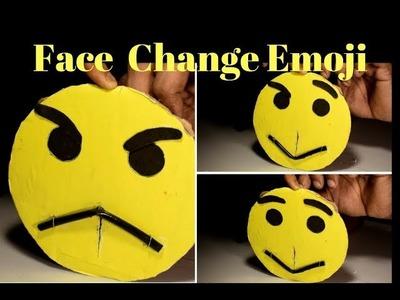 How to make CARDBOARD Emoji |  Diy CARDBOARD Magic Card | Face Changer |
