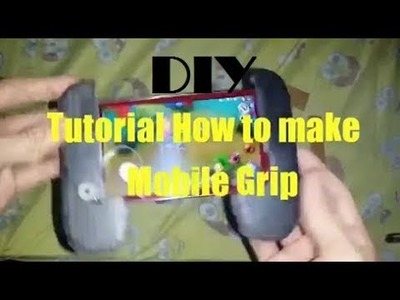 How To Make DIY Mobile Grip : EASY Tutorial For low Budget