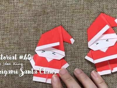 How to Make DIY Origami Santa Claus? | The Idea King Tutorial #40