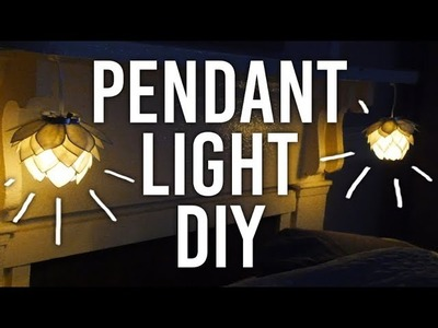 How to Make Pendant Light : DIY
