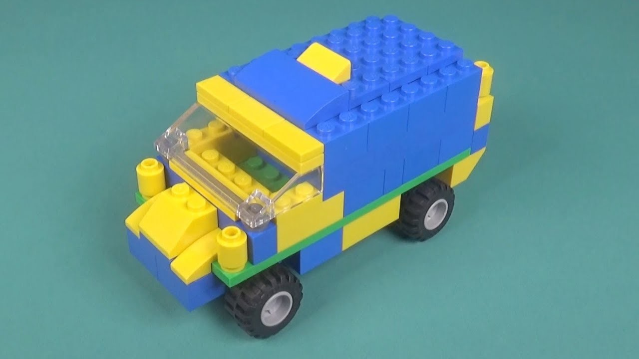 Lego Car (007) Building Instructions - LEGO Classic How To