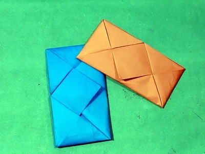 Letter Folding | DIY - Easy Origami Envelope Tutorial(No Glue Required)