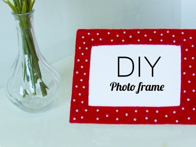 NEW - DIY Easy Photo frame From recycled Cardboard | Room decor | Best out of waste | Beads art