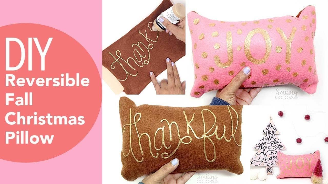 No sew pillow, DIY decorative pillows