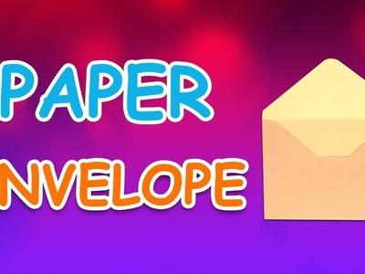 Origami Envelope | DIY Paper Envelope For Kids | Periwinkle