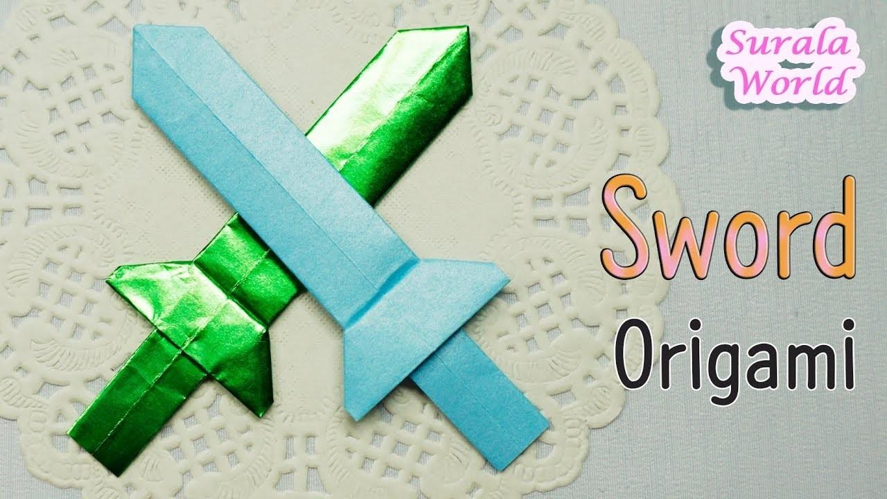 Origami Sword Diy Tutorial Paper Sword