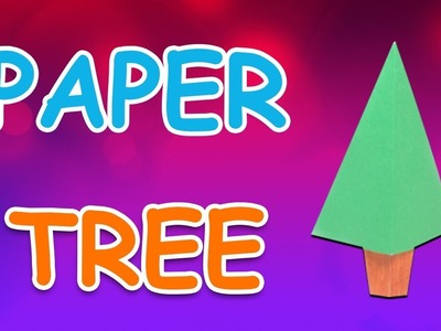 Origami Tree | DIY Beautiful Paper Tree For Kids (Easy To Make) |  Periwinkle