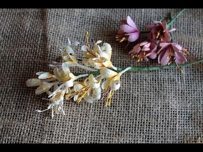 Paper Flower Making - Honeysuckle by Archana Joshi ( EK Success )
