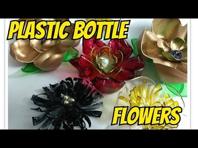 Recycle:Plastic Bottle Flowers||DIY Easy flowers from Plastic bottle||