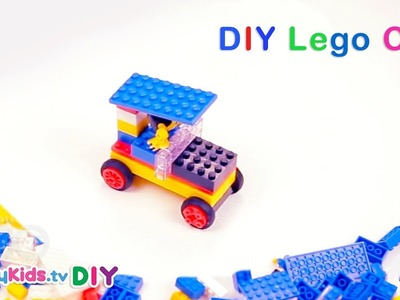 Super Simple Lego Car   Building Blocks   Kid's Crafts and Activities   Happykids DIY