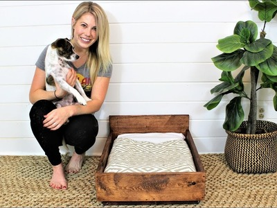 The $15 Pet Bed - DIY Project