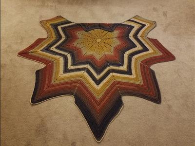 "The ""Autumn Leaf Shawl"" (pt. 2) Crochet Tutorial!"