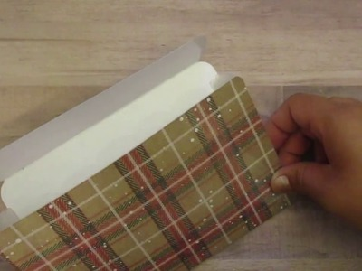 TUTORIAL - DIY Receipt Holder for your Travelers Notebook B6 Part 1
