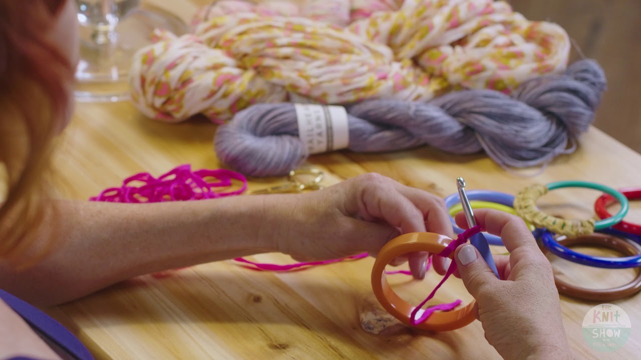VIC'S TIPS 108:  How to Add Crochet to Jewelry (Bracelet)