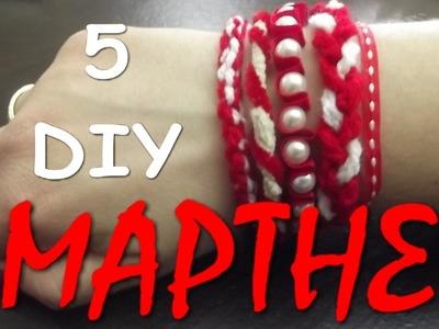 5 DIY March Bracelets - Μάρτης.βραχιολάκια