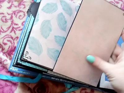 Album wg tutorialu La Tienda de las Manualidades :)
