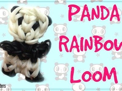 Baby Panda Bear Charm Rainbow Loom Tutorial!