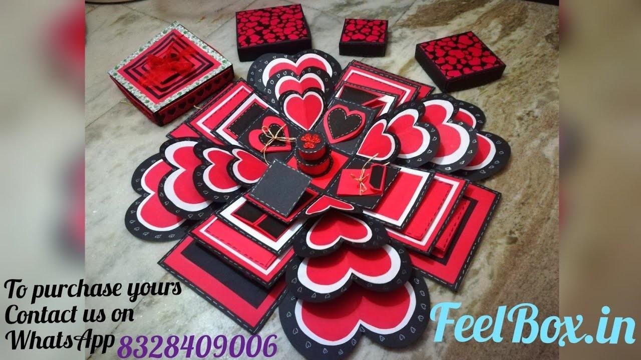 Best Explosionbox Four Layered Explosionbox Handmade Gift For