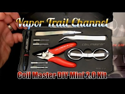 Coilmaster DIY Kit Mini 2.0 + Giveaway x2 (Marvin RTA Included)