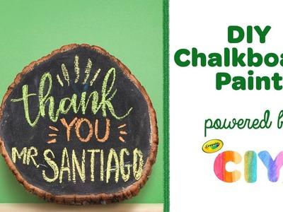 DIY Chalkboard Paint || Crayola CIY: Create It Yourself
