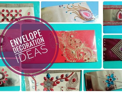 DIY | Envelope Decoration Ideas | Part 1