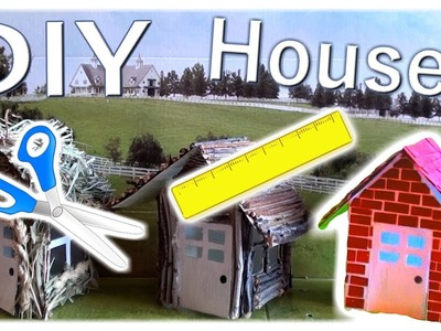 DIY Houses!   From The Big Bad Wolf Skit