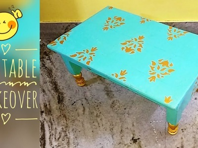 DIY | How  to Makeover your Table | Easiest Furniture Hack