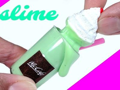 DIY Mini St. Patrick's Day Slime - McDonald's Shamrock Milkshake Slime