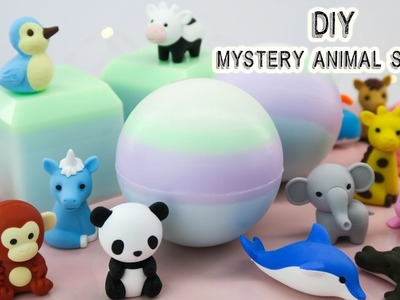DIY Mystery Animal Soaps -  Melt and Pour Soap -  Spicy Pinecone