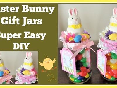Easter Bunny ????Jar Gift Idea ????Super Easy DIY