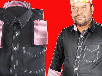 How to full design shirt sewing tutorial in bangla tutorial.