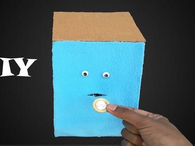 How To Make Coin Face Bank - DIY