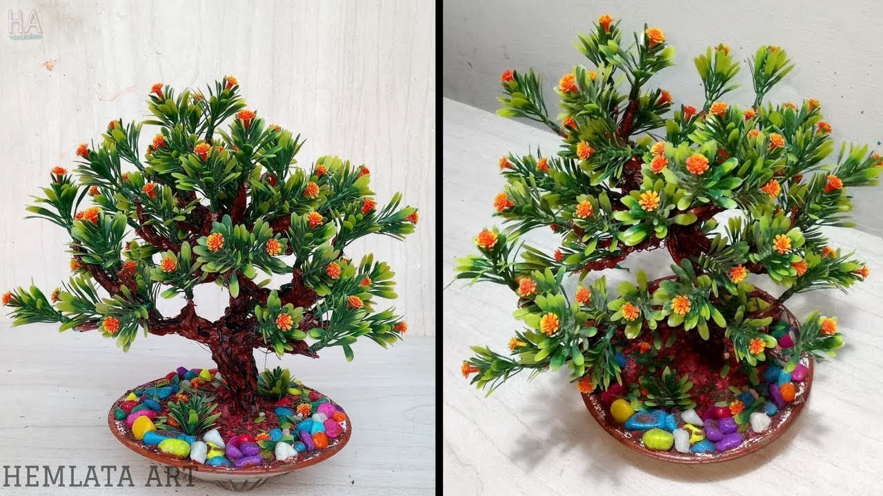 How to make wire tree ( Tutorial )