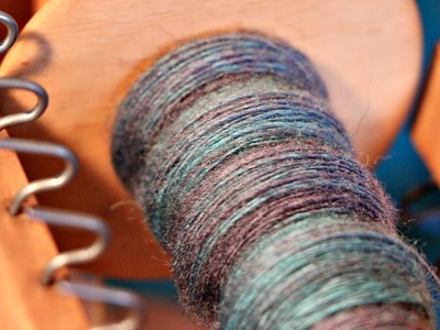 How to Make Your Own Yarn for Knitting. .From Scratch!