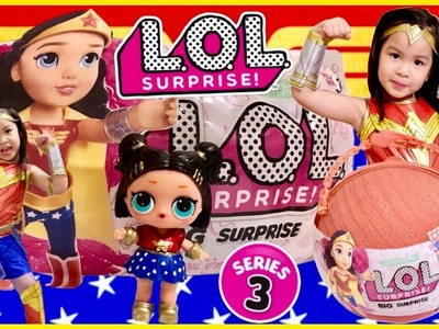 L.O.L Big Surprise Customized DIY DC Super Hero Girls LOL PEARL Surprise Wave 2 Custom Doll & Toys