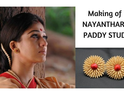 Making Paddy jewelry at home |traditional paddy jewelry tutorial|rama rajyam nayanthara accessories